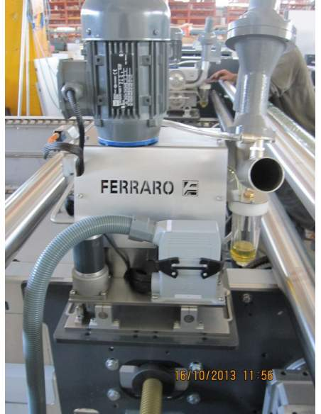 FERR TRIM Trimming system for the cutting of the selvedges Ferraro