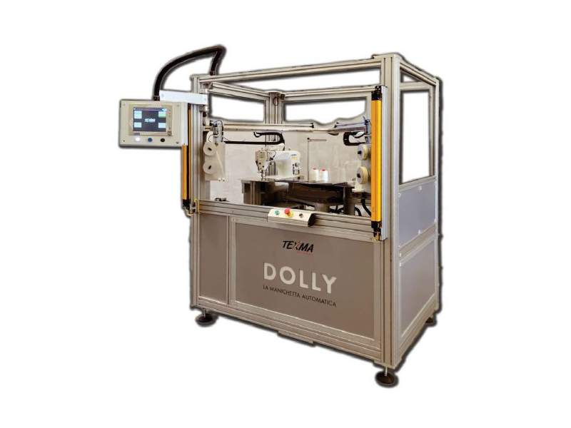 DOLLY Automatic machine to produce the sleeve for subsequent verification of centre-to selvedge, head-to-tail