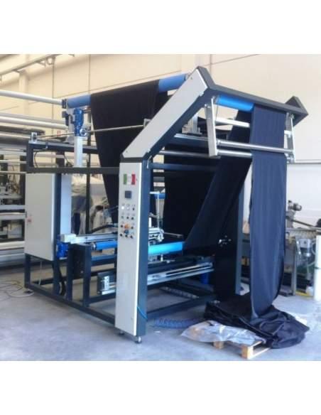 Impianto per cucitura a sacco modello T-DPS BREVETTATO adatto per tessuti a maglia e trama-ordito Texma srl - 7