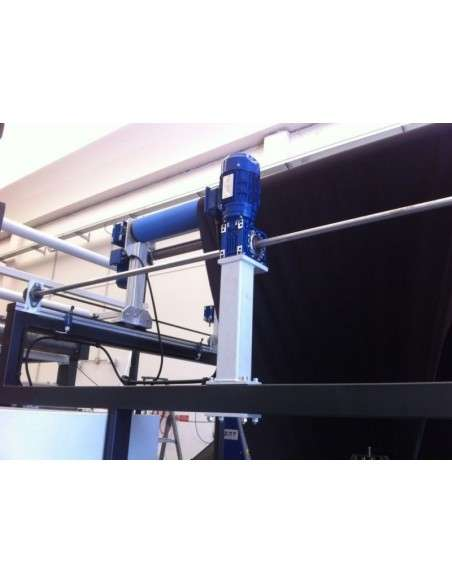 Impianto per cucitura a sacco modello T-DPS BREVETTATO adatto per tessuti a maglia e trama-ordito Texma srl - 9