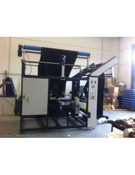 Impianto per cucitura a sacco modello T-DPS BREVETTATO adatto per tessuti a maglia e trama-ordito Texma srl - 10