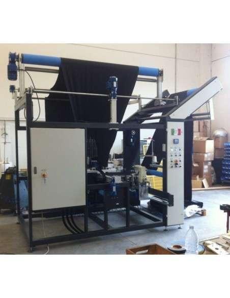 Impianto per cucitura a sacco modello T-DPS BREVETTATO adatto per tessuti a maglia e trama-ordito Texma srl - 11