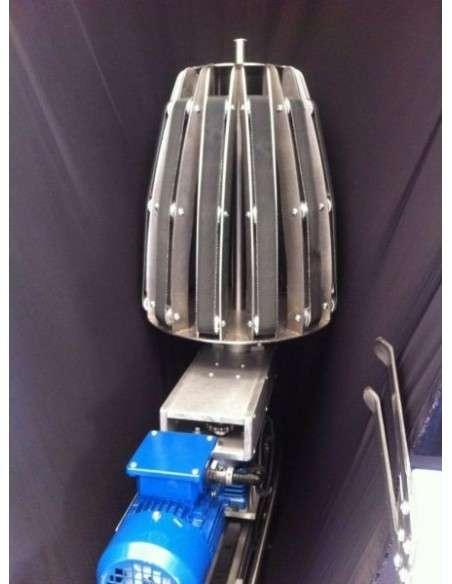 Impianto per cucitura a sacco modello T-DPS BREVETTATO adatto per tessuti a maglia e trama-ordito Texma srl - 12