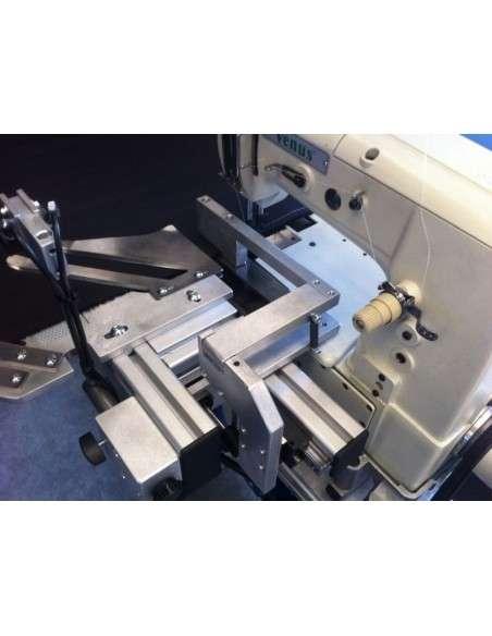 Impianto per cucitura a sacco modello T-DPS BREVETTATO adatto per tessuti a maglia e trama-ordito Texma srl - 13