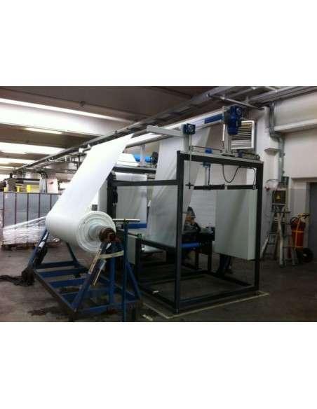Impianto per cucitura a sacco modello T-DPS BREVETTATO adatto per tessuti a maglia e trama-ordito Texma srl - 15