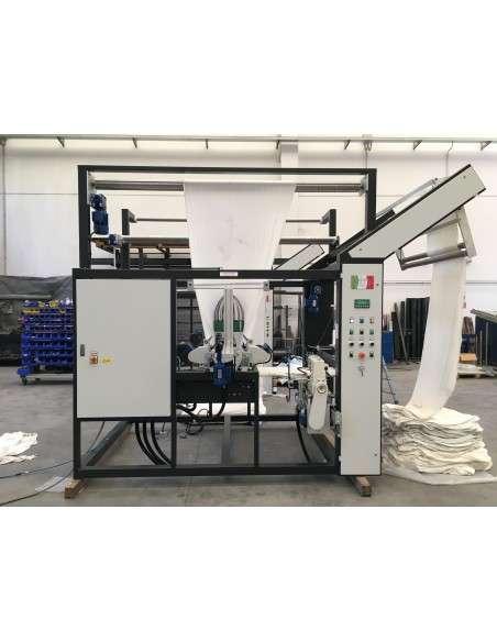 Impianto per cucitura a sacco modello T-DPS BREVETTATO adatto per tessuti a maglia e trama-ordito Texma srl - 16