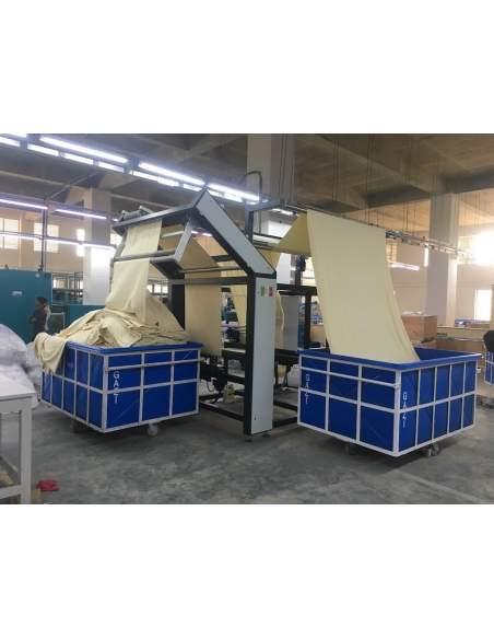 Impianto per cucitura a sacco modello T-DPS BREVETTATO adatto per tessuti a maglia e trama-ordito Texma srl - 5