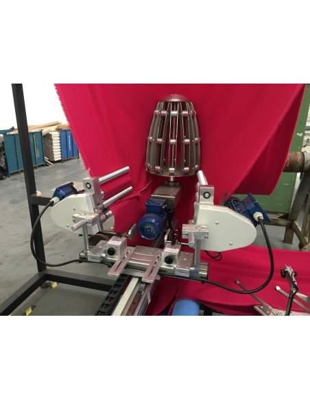 Impianto per cucitura a sacco modello T-DPS BREVETTATO adatto per tessuti a maglia e trama-ordito Texma srl - 4