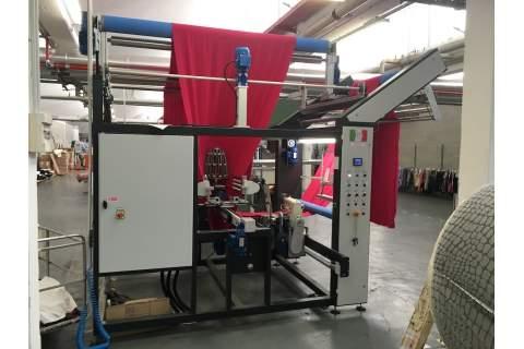 Impianto per cucitura a sacco modello T-DPS BREVETTATO adatto per tessuti a maglia e trama-ordito