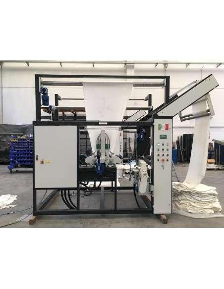Impianto per cucitura a sacco modello T-DPS BREVETTATO adatto per tessuti a maglia e trama-ordito Texma srl - 19