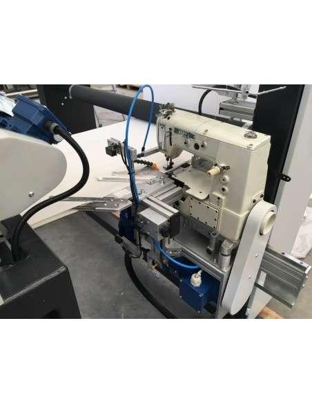 Impianto per cucitura a sacco modello T-DPS BREVETTATO adatto per tessuti a maglia e trama-ordito Texma srl - 21