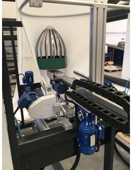 Impianto per cucitura a sacco modello T-DPS BREVETTATO adatto per tessuti a maglia e trama-ordito Texma srl - 22
