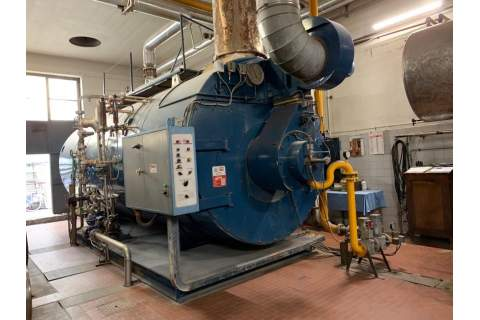 Steam boiler 12 tons Bono