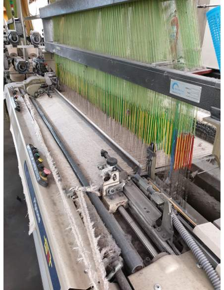SMIT FAST type S and T rapier looms with jacquard