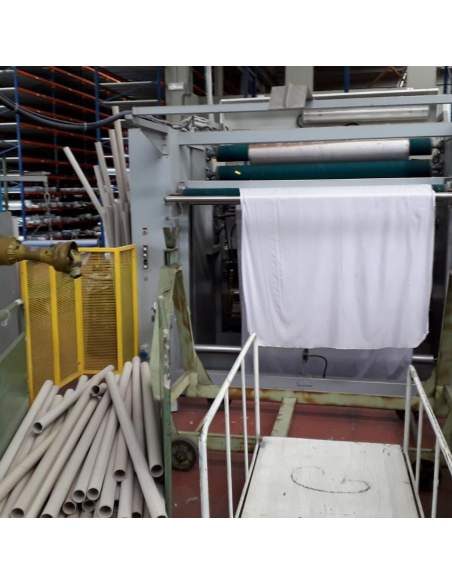 Testa Eureka automatic fabric inspection and packaging machine