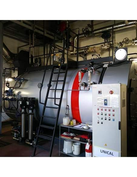 UNICAL High pressure steam boiler, three-pass fire tube Unical - 2