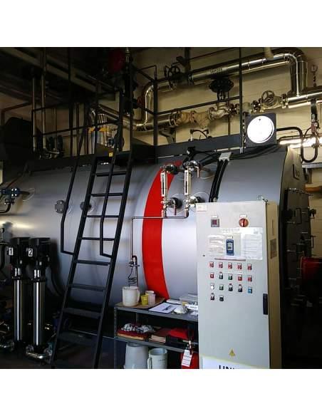 UNICAL High pressure steam boiler, three-pass fire tube Unical - 4