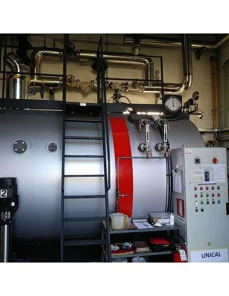 UNICAL High pressure steam boiler, three-pass fire tube Unical - 5