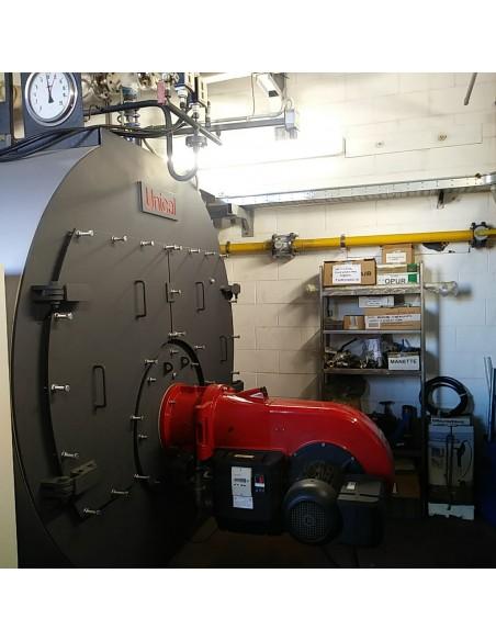 UNICAL High pressure steam boiler, three-pass fire tube Unical - 6