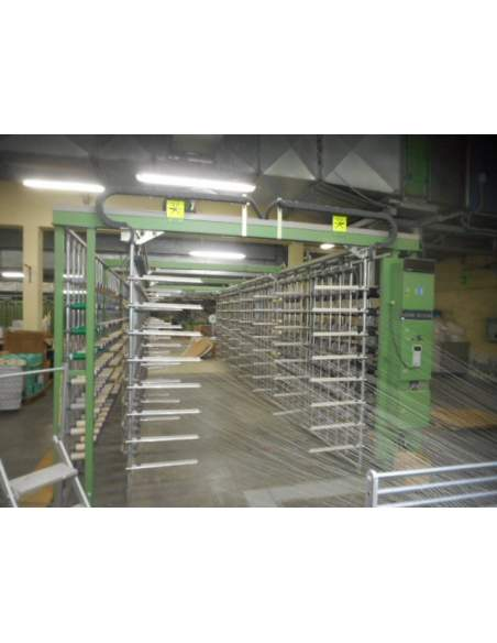 Sectional warping full computerizzed brand KARL MAYER  - 3