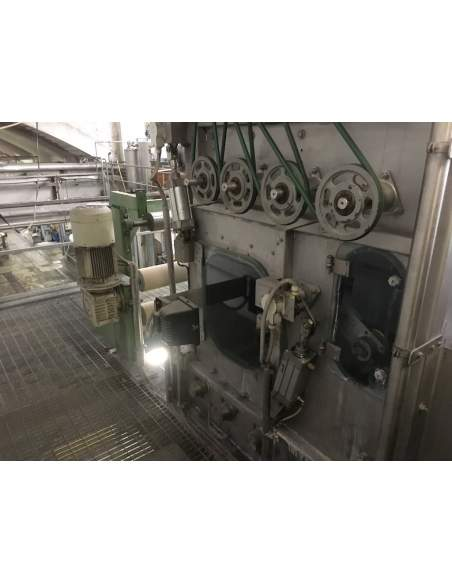 CONTINUOUS BLEACHING RANGE BABCOCK Y.O.C. 1995, WORKING WIDTH 1800 MM Babcock - 3