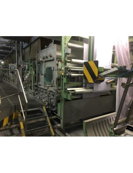 CONTINUOUS BLEACHING RANGE BABCOCK Y.O.C. 1995, WORKING WIDTH 1800 MM Babcock - 6