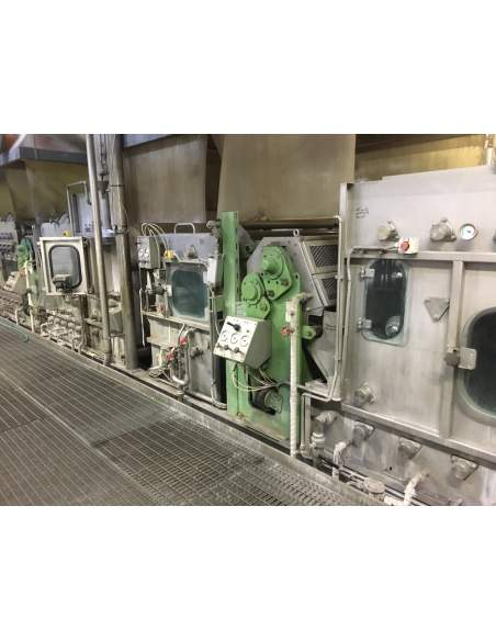 CONTINUOUS BLEACHING RANGE BABCOCK Y.O.C. 1995, WORKING WIDTH 1800 MM Babcock - 7