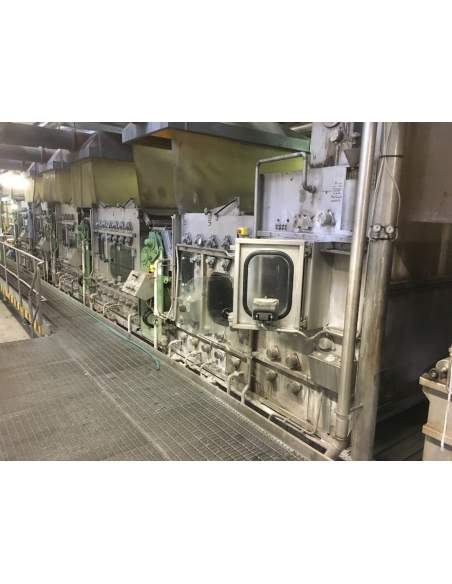 CONTINUOUS BLEACHING RANGE BABCOCK Y.O.C. 1995, WORKING WIDTH 1800 MM Babcock - 8