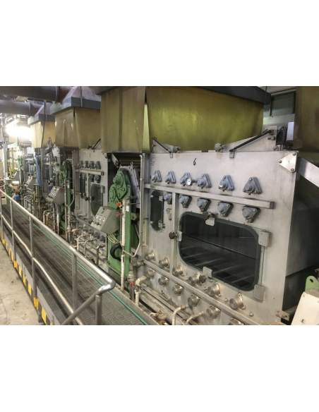CONTINUOUS BLEACHING RANGE BABCOCK Y.O.C. 1995, WORKING WIDTH 1800 MM Babcock - 9