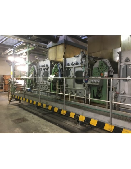 CONTINUOUS BLEACHING RANGE BABCOCK Y.O.C. 1995, WORKING WIDTH 1800 MM Babcock - 10