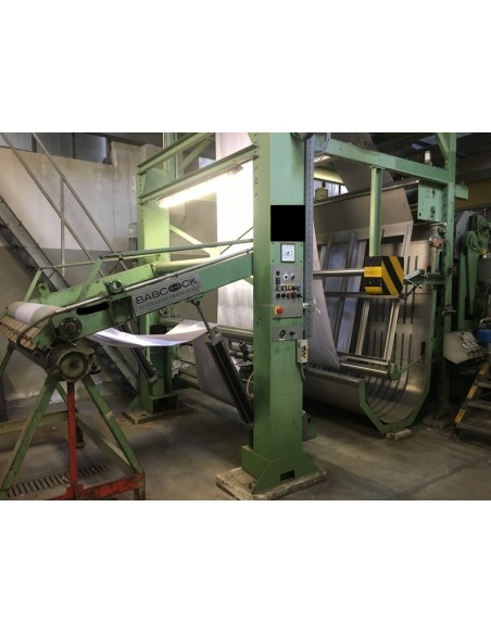 CONTINUOUS BLEACHING RANGE BABCOCK Y.O.C. 1995, WORKING WIDTH 1800 MM Babcock - 11