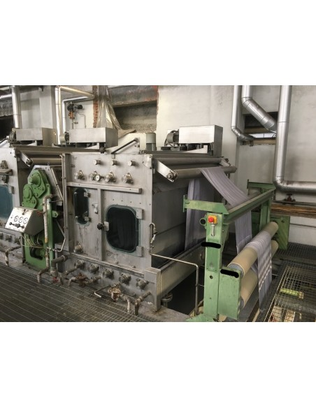 CONTINUOUS BLEACHING RANGE BABCOCK Y.O.C. 1995, WORKING WIDTH 1800 MM Babcock - 13