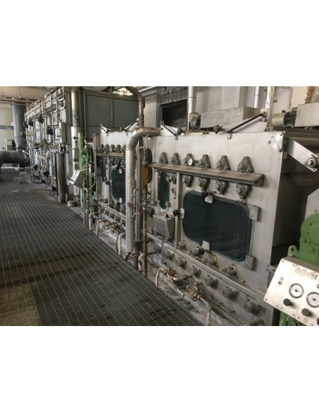 CONTINUOUS BLEACHING RANGE BABCOCK Y.O.C. 1995, WORKING WIDTH 1800 MM Babcock - 14