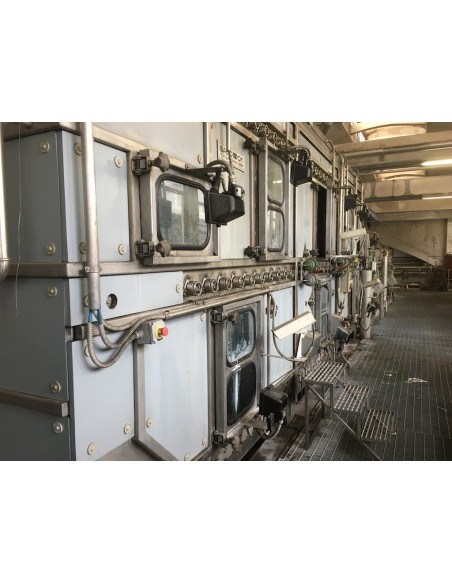 CONTINUOUS BLEACHING RANGE BABCOCK Y.O.C. 1995, WORKING WIDTH 1800 MM Babcock - 16