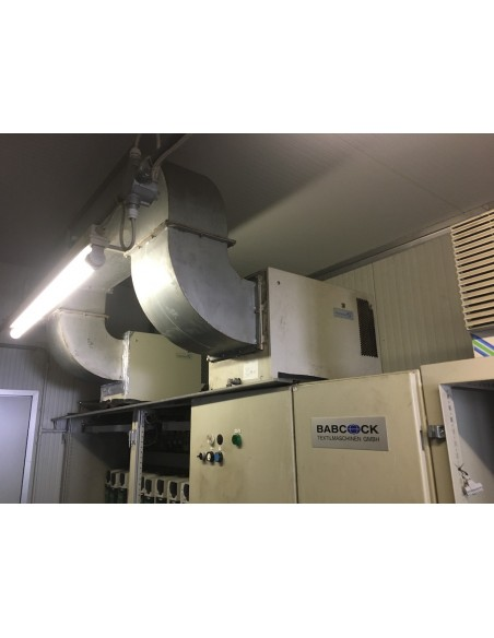 CONTINUOUS BLEACHING RANGE BABCOCK Y.O.C. 1995, WORKING WIDTH 1800 MM Babcock - 27