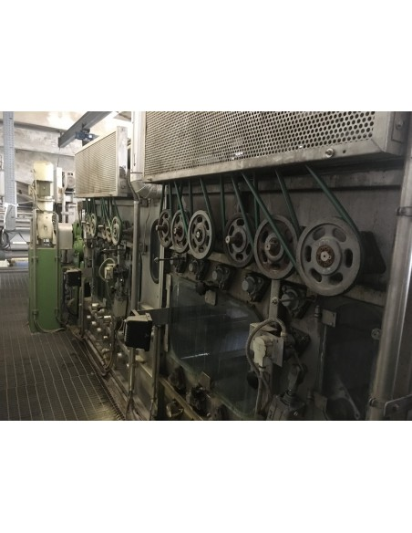 CONTINUOUS BLEACHING RANGE BABCOCK Y.O.C. 1995, WORKING WIDTH 1800 MM Babcock - 34
