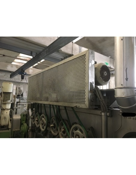 CONTINUOUS BLEACHING RANGE BABCOCK Y.O.C. 1995, WORKING WIDTH 1800 MM Babcock - 36