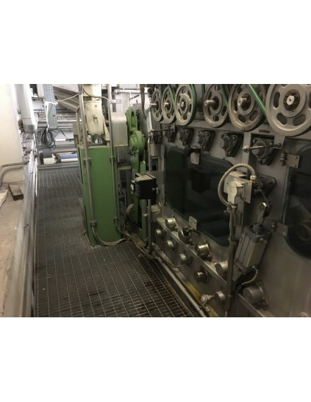 CONTINUOUS BLEACHING RANGE BABCOCK Y.O.C. 1995, WORKING WIDTH 1800 MM Babcock - 37