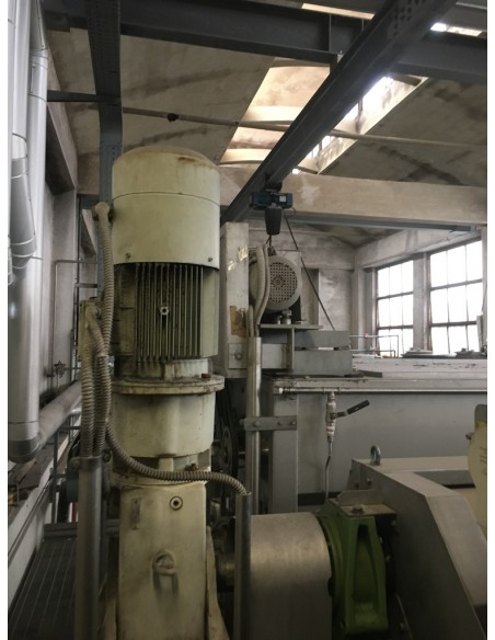 CONTINUOUS BLEACHING RANGE BABCOCK Y.O.C. 1995, WORKING WIDTH 1800 MM Babcock - 38