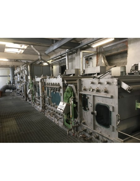 CONTINUOUS BLEACHING RANGE BABCOCK Y.O.C. 1995, WORKING WIDTH 1800 MM Babcock - 40