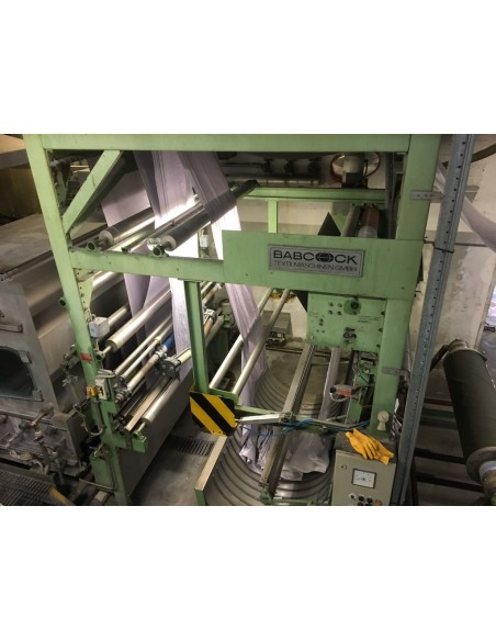 CONTINUOUS BLEACHING RANGE BABCOCK Y.O.C. 1995, WORKING WIDTH 1800 MM Babcock - 41