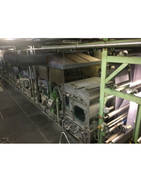 CONTINUOUS BLEACHING RANGE BABCOCK Y.O.C. 1995, WORKING WIDTH 1800 MM Babcock - 42