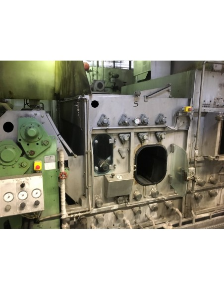 CONTINUOUS BLEACHING RANGE BABCOCK Y.O.C. 1995, WORKING WIDTH 1800 MM Babcock - 45
