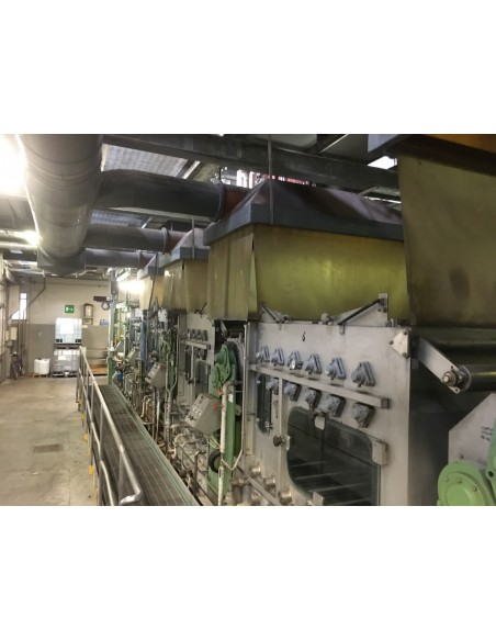 CONTINUOUS BLEACHING RANGE BABCOCK Y.O.C. 1995, WORKING WIDTH 1800 MM Babcock - 46