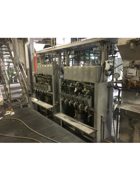 CONTINUOUS BLEACHING RANGE BABCOCK Y.O.C. 1995, WORKING WIDTH 1800 MM Babcock - 48