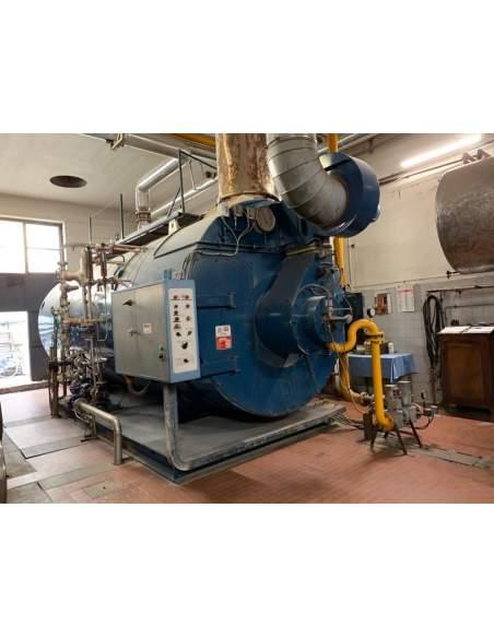 Steam boiler 10 tons Bono Mingazzini - 1
