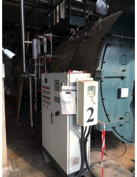 Steam boiler 8 tons Melgari  - 4