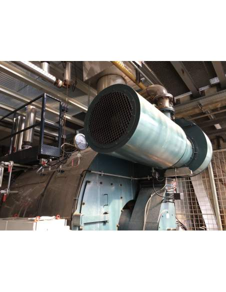 Steam boiler 8 tons Melgari  - 5