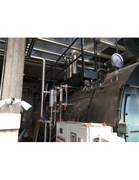 Steam boiler 8 tons Melgari  - 7