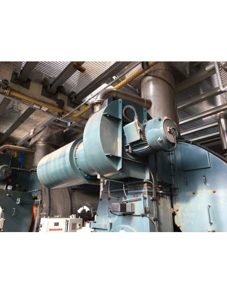 Steam boiler 8 tons Melgari  - 9